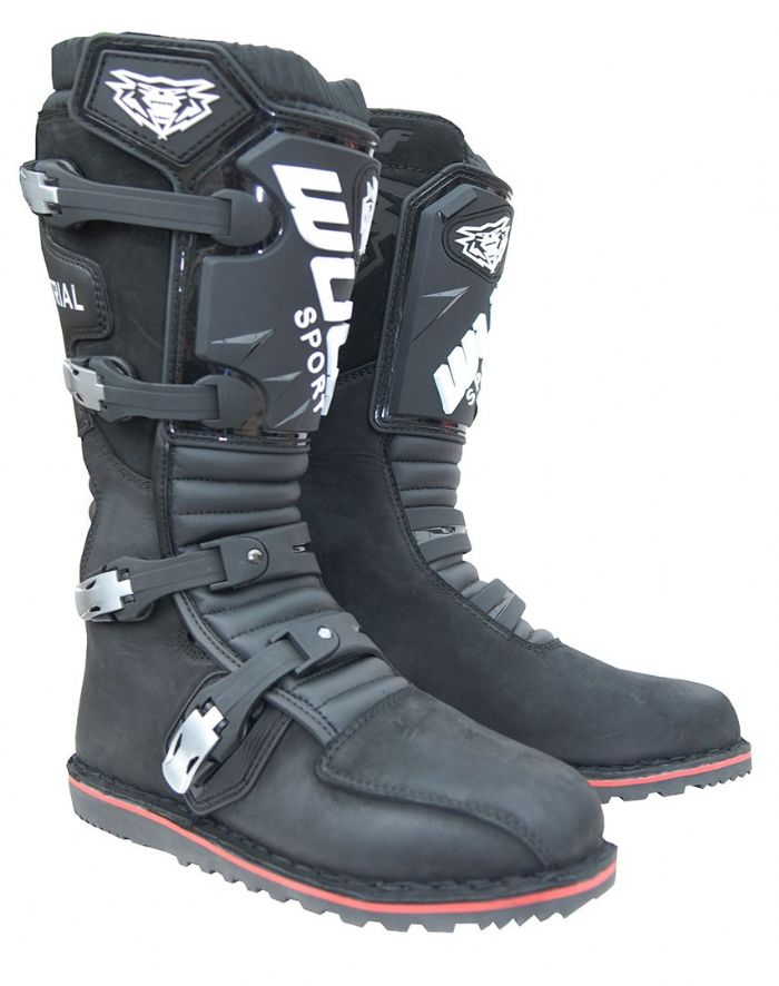 Wulfsport HL Trials Boots Black